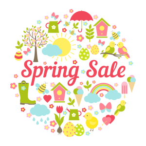spring sale picture