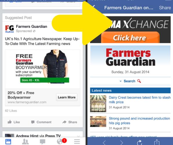 Facebook ads for land based businesses